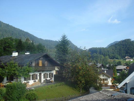 Haus Bichler Josefine: View from our room window