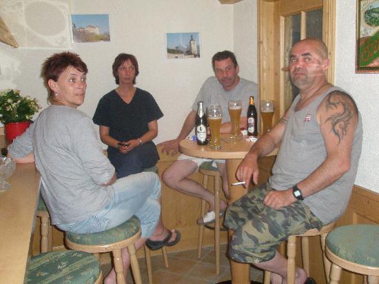 Pension Waldwinkel: In der Bar