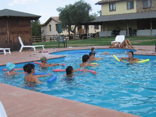 Agriturismo Il Casaletto: una inaspettata lezione di aqua-gym