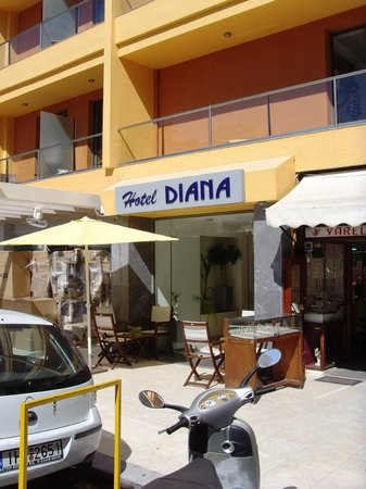 Diana Boutique Hotel: hotel