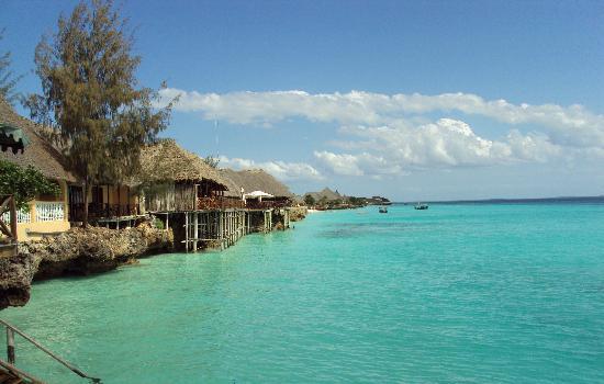 Langi Beach Bungalows Vue Du Langilangi La Mer Et Les Autres Hotels