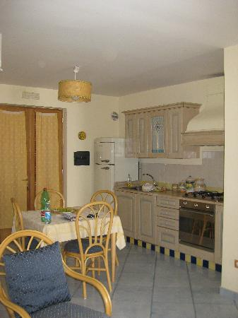 "La Dolce Vita: Kitchen of Apartment ""O Sole Mio"""