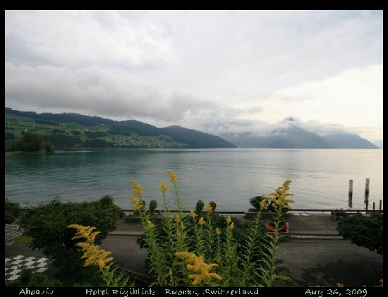 Rigiblick am See: Room # 12 balkony view