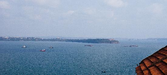 Arabin Sea from Aguada Fort,near Panjim,Goa.