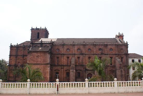 Basilica of Bom Jesus Church-300 yrs old church ,a World Heritage Centre under UNESCO,Old Goa.