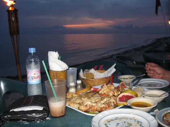 Occidental Cozumel: dinner at Albertos