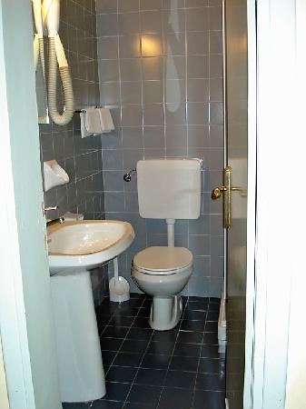 Hotel Villani: Bathroom: simple and spotless