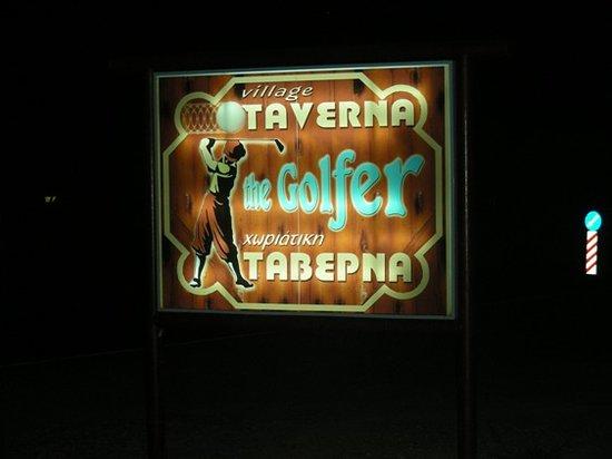 Golfer Restaurant : Insegna Taverna