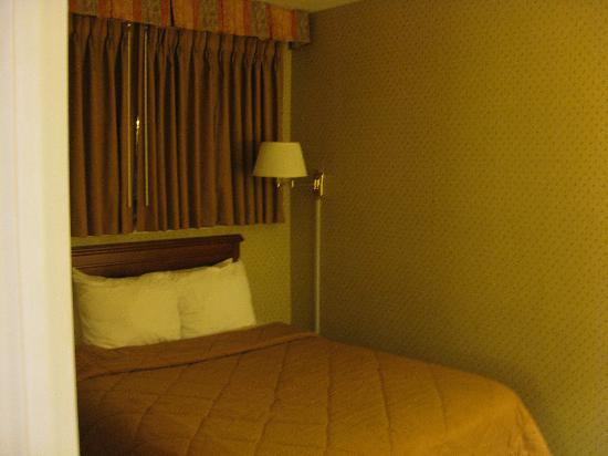 Quality Inn: second room of two-room suite