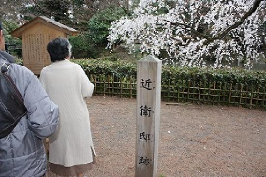 Kyoto Imperial Palace: 近衛邸跡