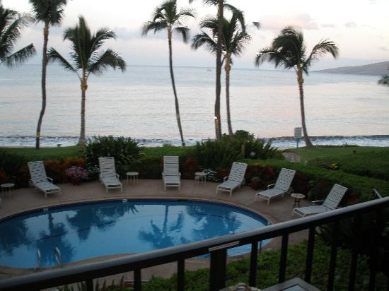 Kealia Resort: this was the view from the lanai