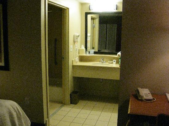 Hampton Inn Cedar City: bathroom area