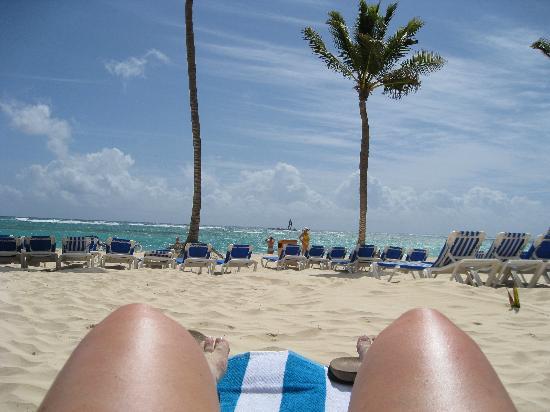 Luxury Bahia Principe Ambar Blue: Beach view