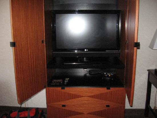 Tv Cabinet Door Hinges Were Broke We Couldnt Get It To Stay