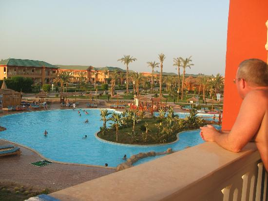 Aqua Blu Sharm: view from our room