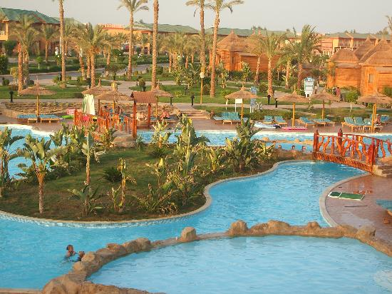 Aqua Blu Sharm: View from our balcony