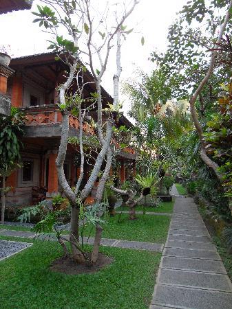 Ubud Bungalow: l'allée des bungalow