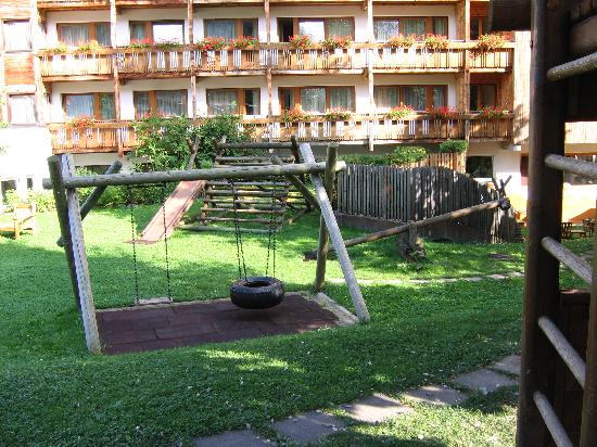 Serfaus, Áustria: I giochi all'esterno
