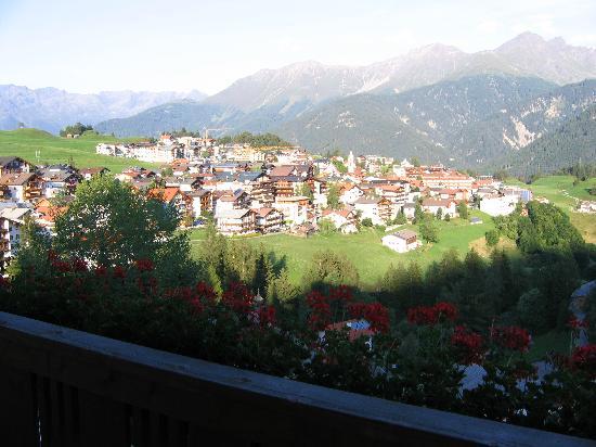 Serfaus, Oostenrijk: Panorama dalla camera
