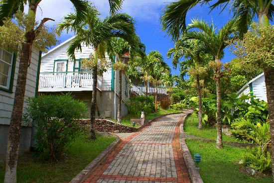 Windwardside, Saba: The hotel