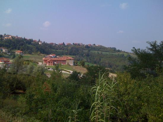 Relais Villa d'Amelia: vista panoramica