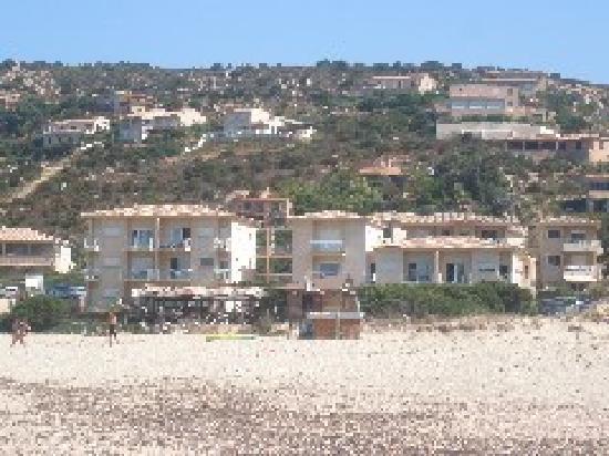 Sartène, France : Lilium Maris vu de la plage