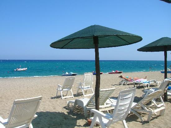 Cardedu, Italia: La spiaggia privata