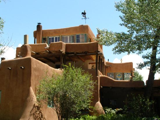 Mabel Dodge Luhan House: the Solarium perched atop the main house