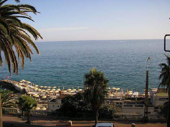 Hotel Villa La Brise: Blick aus dem Zimmer