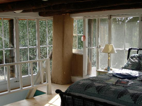 Mabel Dodge Luhan House: inside the Solarium