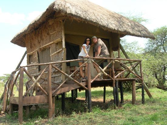 Ikoma Safari Camp : una de las cabañas