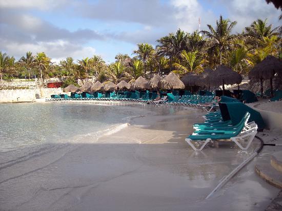 Occidental at Xcaret Destination: La plage