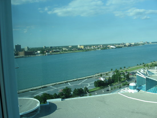 Caesars Windsor: View from 11th Augustus Forum