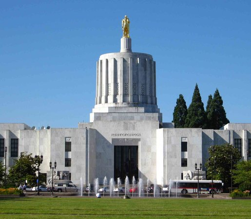 Salem, OR: Oregon State Capitol