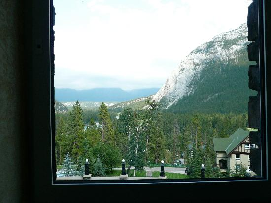 Fairmont Banff Springs: view from Room 277