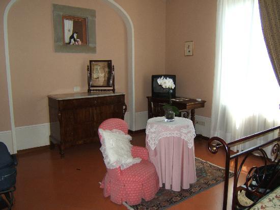 Villa Marsili: la camera