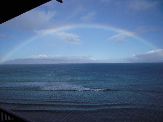 Maui Kai: Rainbow over Kaanapali coast