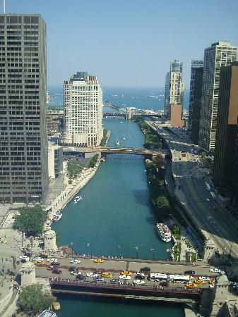 Trump International Hotel & Tower Chicago: Another view from room