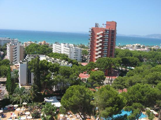 Hotel Riu Playa Park: Aussenblick