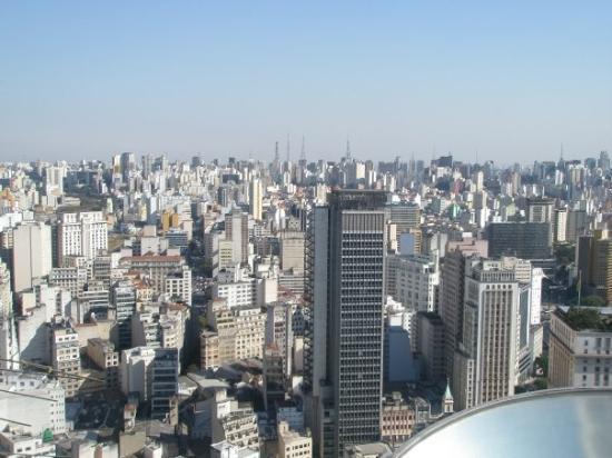 Farol Santander: Vista parcial de São Paulo desde el Edificio Banespa