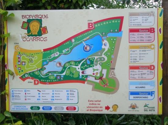 Parque Los Ocarros en Villavicencio
