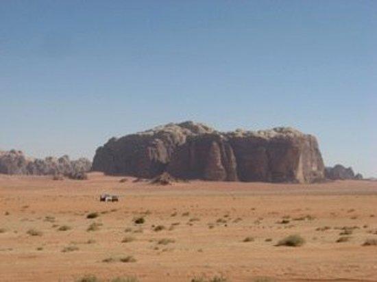 Jebel Khazali: Wadi Rum desert, Jordan