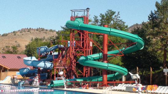 Water Slides Picture Of KahNeeTa Resort Spa Warm Springs - Map of kahneeta oregon