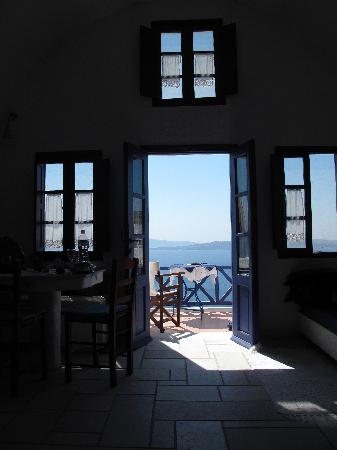 Ifestio Villas: View from the inside