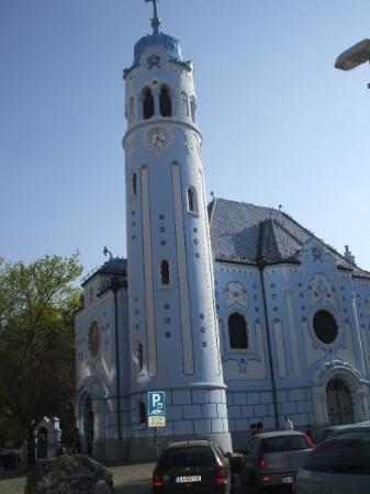 St.-Elisabeth-Kirche/Blaue Kirche: The Blue Church