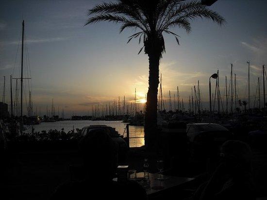 La Manga del Mar Menor, España: el puerto