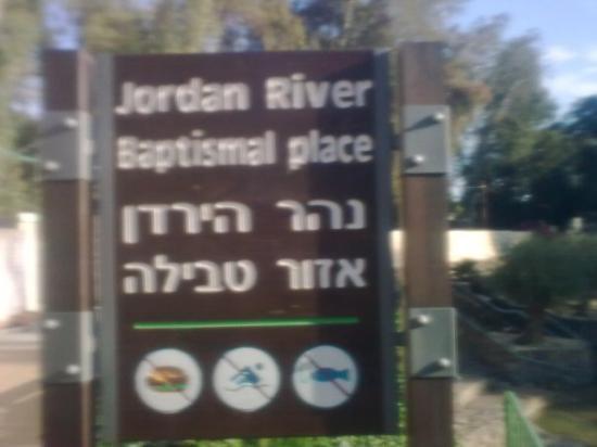Jordan Valley, อิสราเอล: נהר הירדן Le Jourdain