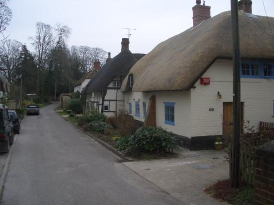 Winchester, UK: Wherwell, Hampshire, UK. March 2005