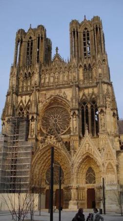 Cathedrale Notre-Dame de Reims: Catedra of Reims..