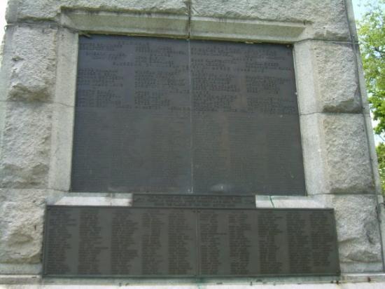 Oriskany, Estado de Nueva York: on the monument